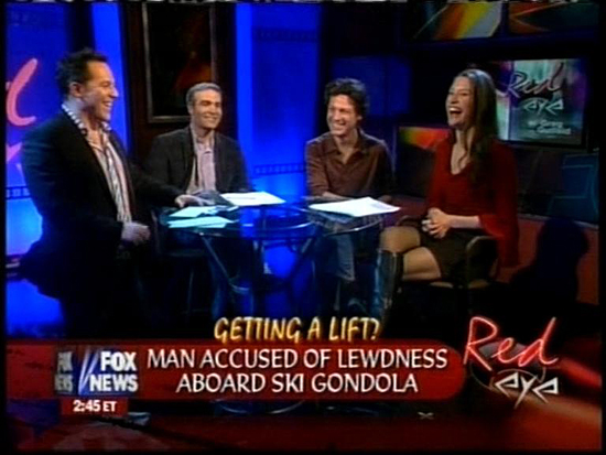 red fox eyes. Fox News Channel - Red Eye